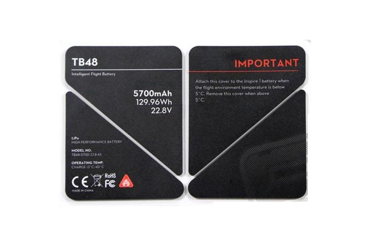 Inspire 1 TB48 Battery insulation sticker