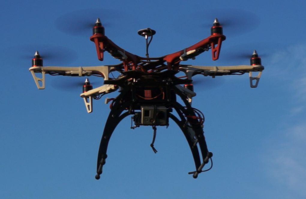 Hexacopter NAZA+GPS F550 Kit with legs and gimbal
