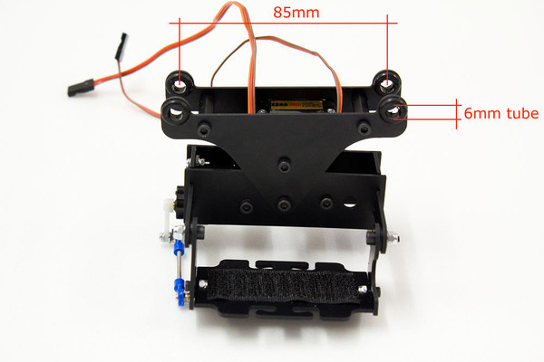 2D gimbal for GoPro camera
