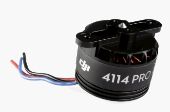 S800 EVO brushless motor with black propeller flange connection