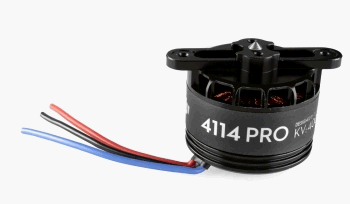 S800 EVO brushless motor with red propeller flange connection