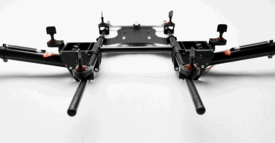 S800 landing gear (with servos)