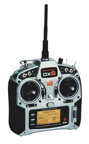 DX8 DSMX Spektrum, AR8000, TM1000 Mode 1-4