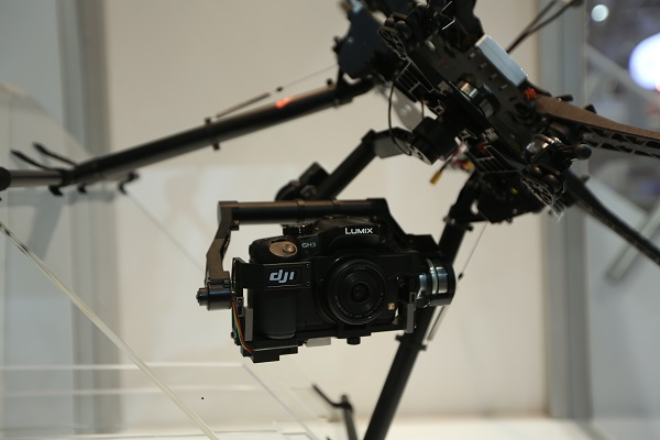 3D Gimbal Zenmuse for Lumix GH3