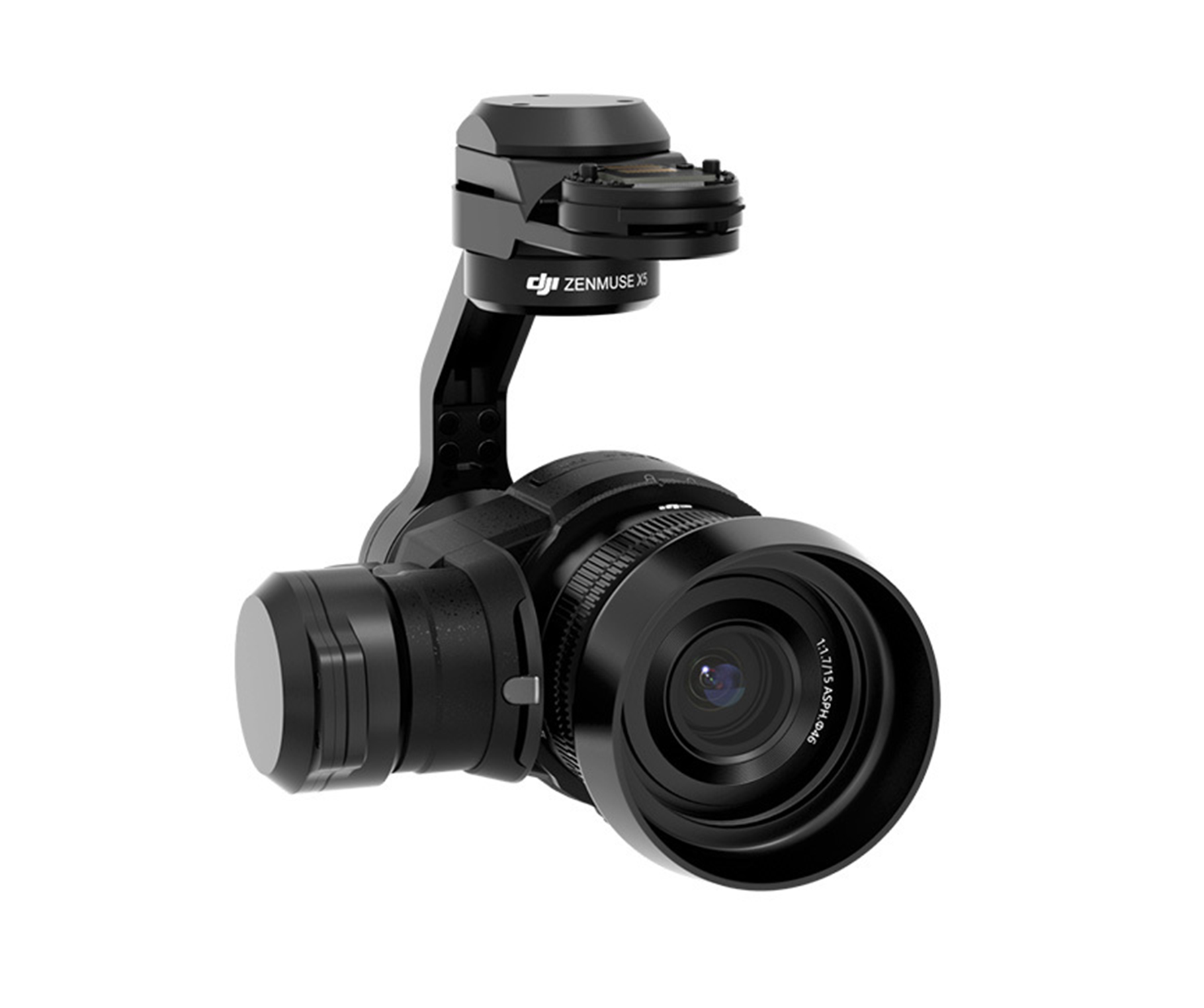 Zenmuse X5 gimbal and camera (with MFT Lens)