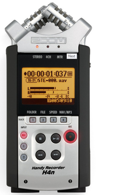 ZOOM H4nSP - handy recorder