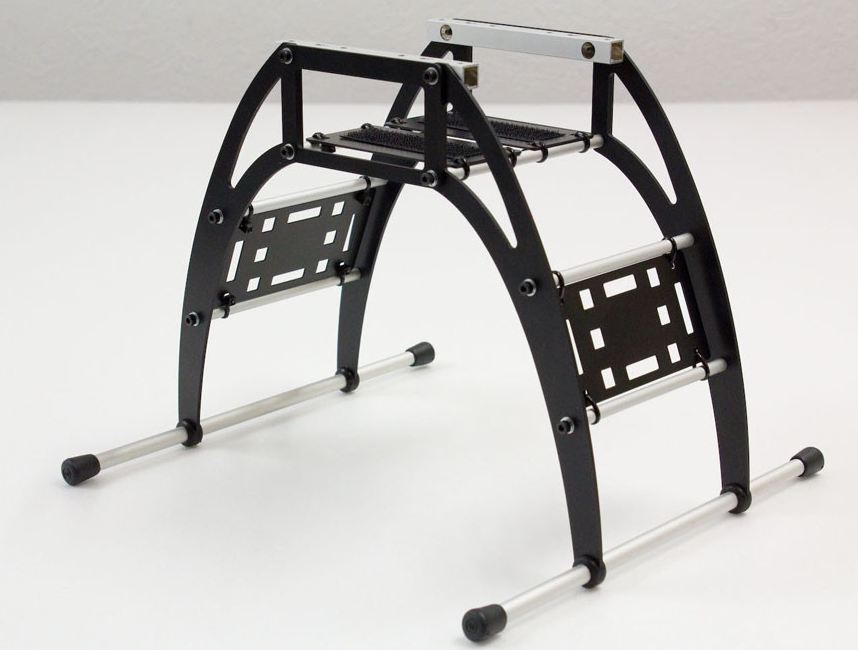 Legs for F550 with accessory plates