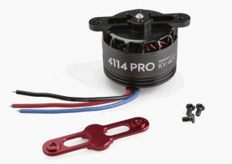 S1000 - Premium 4114 Motor with red Prop cover