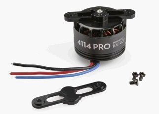 S1000 - Premium 4114 Motor with black prop cover