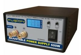 Adjustable power supply 600W 230V/5-15V 0-40A