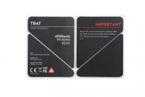 Inspire 1 TB47 Battery insulation sticker